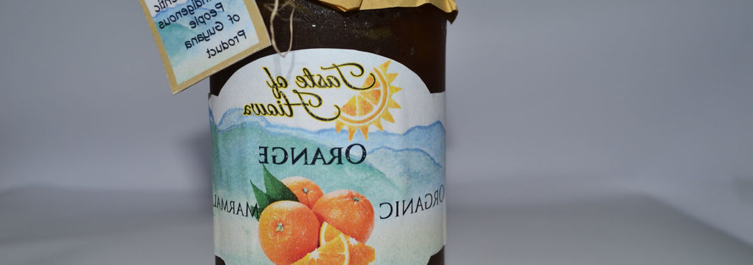 Taste of Hiowa Orange Marmalade